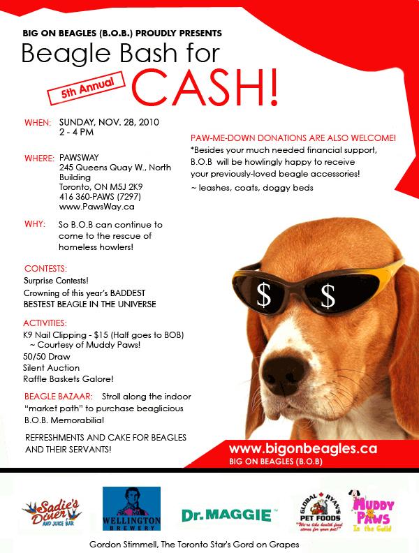 Big On Beagles Events